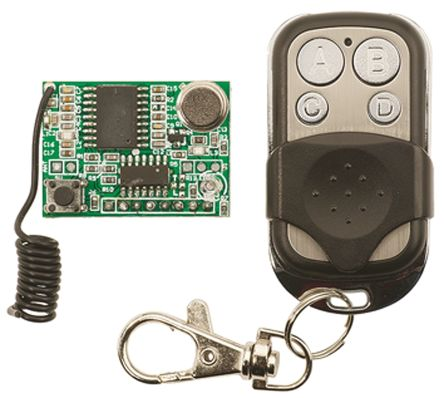 Parallax Inc Key Fob 433MHz Remote Control Development Kit