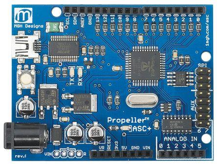 Propeller ASC+, Arduino Shield format