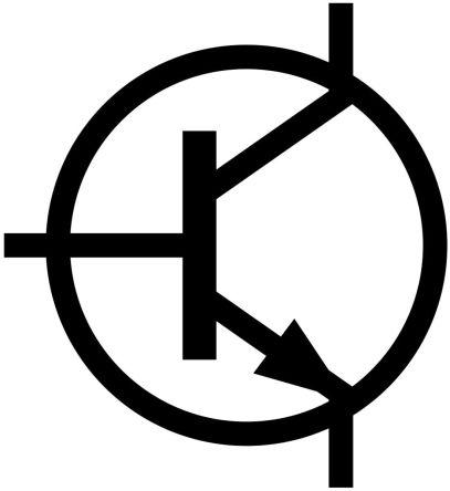 Schaltzeichen für NPN-Transistor
