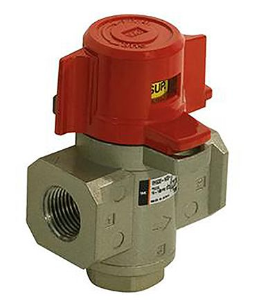 SMC VHS NPT 1/4 Relief Valve Female NPT 45 (Dia.)mm 1/4in 0.1MPa, to 1 (Operating) MPa, 1.5 (Proof) MPa