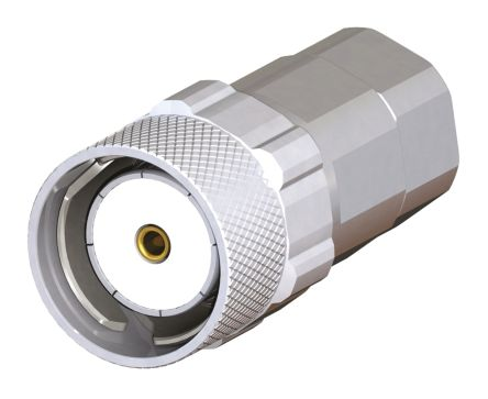 Radiall QLISeries, 50Ω QLI Connector Plug, Cable Mount, 0  6GHz Operating Frequency