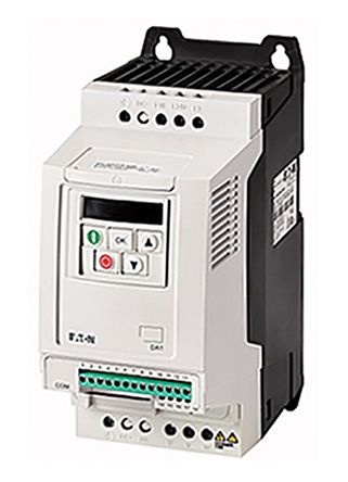 Inverter Drive, 3-Phase In, 0 -> 500Hz Out 0.75 kW, 230 V with EMC Filter, 4.3 A PowerXL DA1, IP20, CANOpen product photo