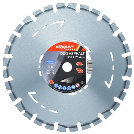 Norton 300mm Diamond Tipped Circular Saw Blade, 20mm Arbor