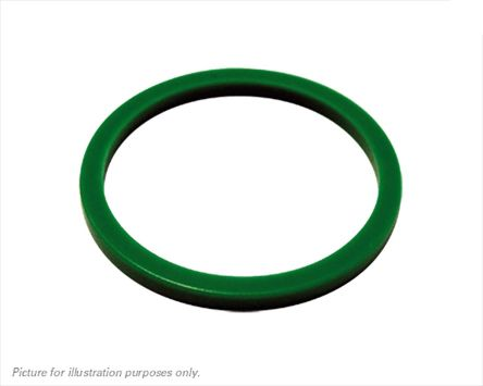 Green Connector Ring,Shell Size 10 for use with UTS Series Receptacle Connector product photo