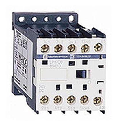 Contacteur avec contacts 2 N/O, 2 N/F, 20 A, 12 V c.c.
