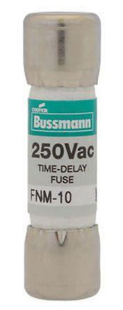 Fusible De Cartucho Cooper Bussmann FNM-30 30A Melamina, 10 X 38mm