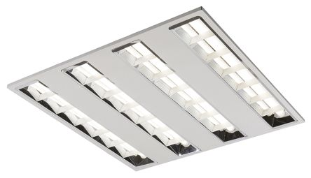 42 W Led Ceiling Light Diffuser Recessed Square 4 Lamp No 595 X 45 Mm