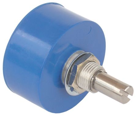 Bourns 1 Gang Rotary Conductive Plastic Potentiometer with a 6 35 mm Dia   Shaft, 5kΩ, ±10%, 1 5W, Linear 6657S-1-502