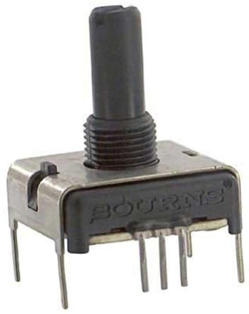 Bourns 1 Gang Rotary Conductive Plastic Potentiometer with a 6 35 mm Dia   Shaft, 5kΩ, ±20%, 0 75W, Linear