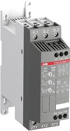 ABB 25 A Soft Starter PSR Series, IP20, 11 kW, 600 V