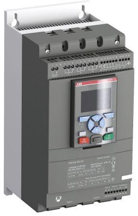 ABB 106 (Inline) A, 181 (Inside Delta) A Soft Starter PSTX Series, IP10, IP20, 55 kW, 100 → 250 V