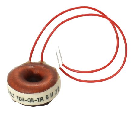 Vishay 50 mH ±2% Tinned Copper Leaded Inductor TD
