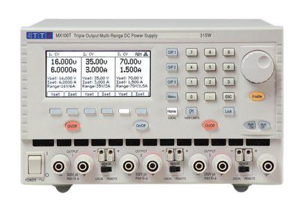 Aim-TTi 51153-9340 Analogue, Digital Bench Power Supply, 3 Output 0 → 16 V, 0 → 35 V, 0 → 70 V