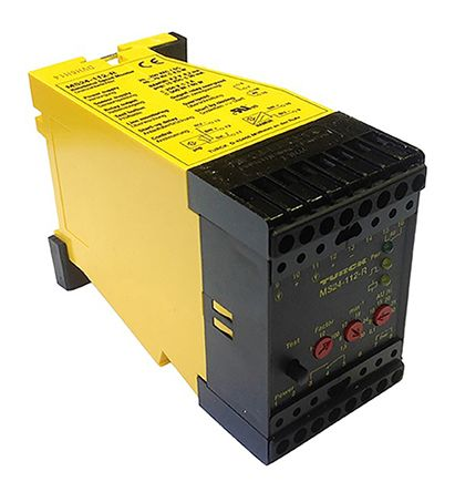Turck Zero Speed Monitor Monitoring Relay With SPDT Contacts, 20 → 250 V  ac, 20 → 250 V dc