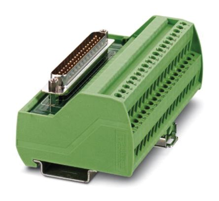 VIP-2/PT/D37SUB/M/SO Series Interface Relay Module, 37-Pin Male D-Sub, Push In product photo