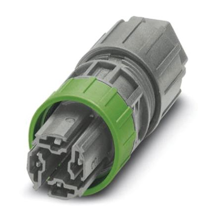 Phoenix Contact QPD P 4X2.5 9-14 GY Series Connector, 4 contacts