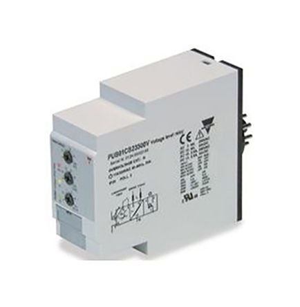 Carlo Gavazzi Multi Function Timer Relay Plug In 01 s 100 h