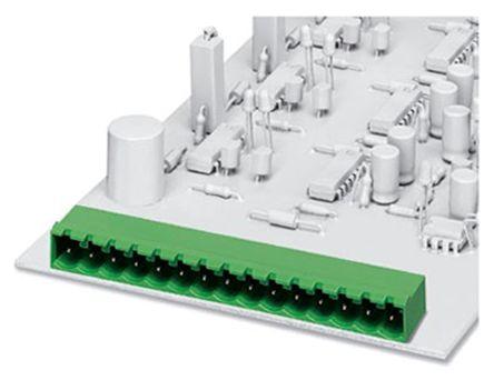 Phoenix Contact EMSTBA 2.5/19-G, 5mm Pitch, 19 Way PCB Terminal Block Header