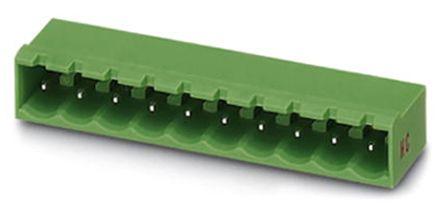 Phoenix Contact MSTBA 2.5 HC/ 5-G, 5mm Pitch, 5 Way PCB Terminal Block Header