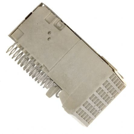Amphenol FCI Metral Series 2mm Pitch Backplane Connector, Female, Right Angle, 6 Row, 30 Way 4000