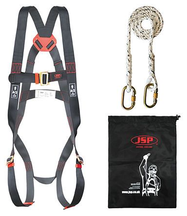Safety Harness Kit FAR1101 Containing Draw String Bag, Harness, Lanyard product photo