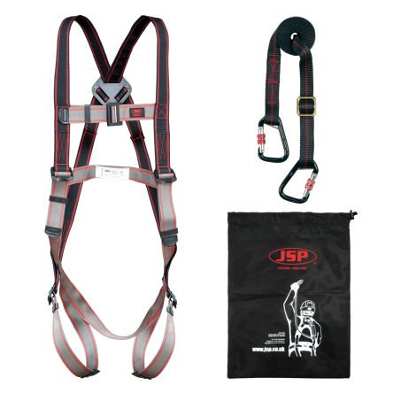 far1103 safety harness kit jsp far1103 containing draw string bag rh uk rs online com safety harness kit lowe's safety harness kits for roofers