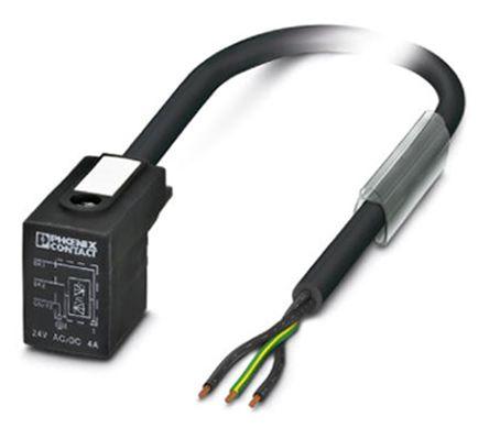1435234 | Phoenix Contact Kabel und Stecker 1.5m Ventil BI 3-polig ...