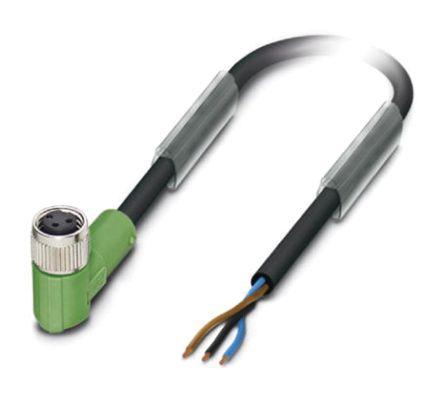 Cable Y Conector Phoenix Contact, M8, 3 Contactos, 1.5m, Hembra, 1669738