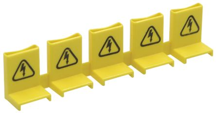 Busbar Tooth Covers For Up To 5 Poles