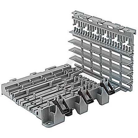 6-Module Socket Base, 108 mm Length