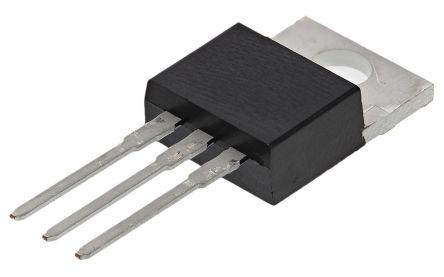 Littelfuse, 2N6508G, Thyristor, 600V 16A, 75mA 3-Pin, TO-220AB
