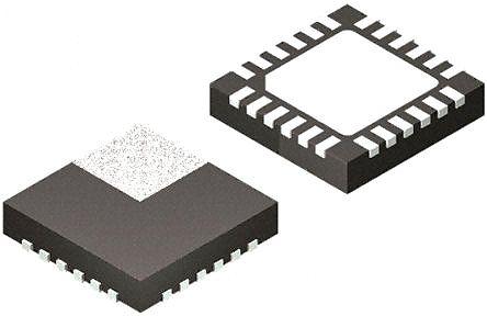 Analog Devices Hittite HMC629LP4E, Digital Attenuator, 45dB, 6GHz, Maximum of 5 V 24-Pin SMT