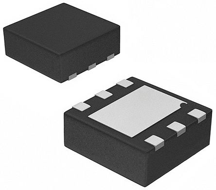 Analog Devices Hittite HMC536LP2E, SPDT RF Switch 6GHz Single SPDT 24dB Isolation 3 → 5 V dc 6-Pin DFN