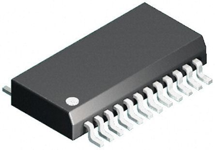 Analog Devices Hittite HMC252QS24E, RF Switch 3GHz Single SP6T 26dB Isolation CMOS/TTL 3.3 → 5 V dc 24-Pin QSOP