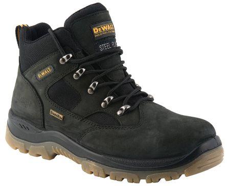 048fd27b281 DeWALT Challenger Black Steel Toe Men Safety Boots, UK 6, US 7