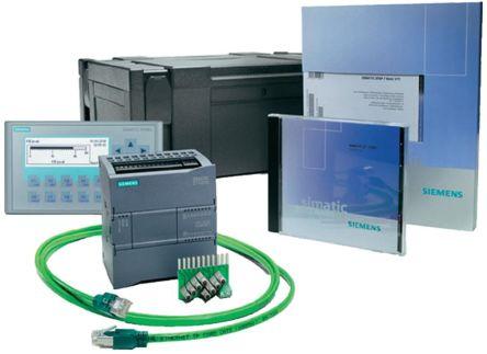 Siemens S7-1200 PLC CPU Starter Kit, Profibus, Profinet Networking Ethernet, USB Interface, 24 V dc