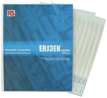 Panasonic 厚膜チップ抵抗器 サンプルキット ERJ3EK シリーズ