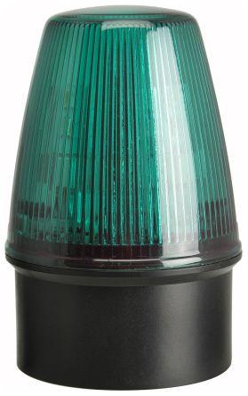 Led Flashing Beacon Led100 Series Green Surface Mount Wall 20 30 V Ac Dc