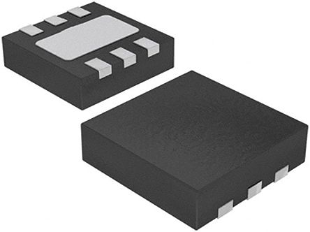 Silicon Labs Si7006-A20-IM1, Temperature & Humidity Sensor -40 → +125 °C ±1 °C, ±5 %RH Serial-I2C, 6-Pin DFN