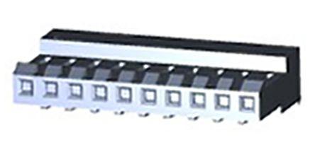 mi 3 CONTATTI Recipiente 10 x filo-Scheda Connettore MTA-156 serie 3.96 mm