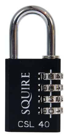 Squire CSL40 Combination Padlock 40mm