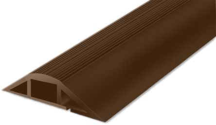 RS PRO Cable Cover, 101.6 mm x 1m, Brown