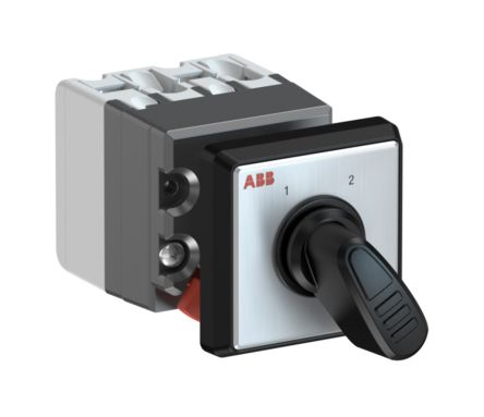 2 positions 60° Rotary Switch, 400 V, 10 A, Handle