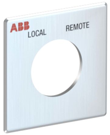 ABB Legend Plate for use with OC10_ Series Cam Switches