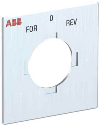 ABB Legend Plate for use with OC25_ Series Cam Switches