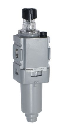 Parker BSPP 1/4 40scfm Pneumatic Air Lubricator, -10 → +65.5°C