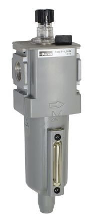 Parker BSPP 1/2 90scfm Pneumatic Air Lubricator, -10 → +65.5°C