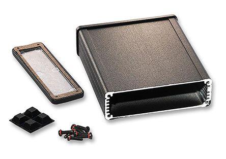1457L1201EBK Hammond | Hammond 1457 E Aluminium Enclosure, IP54, 120