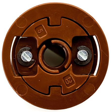 Brown Acetal Plasterboard Fixings with 20mm fixing hole diameter product photo