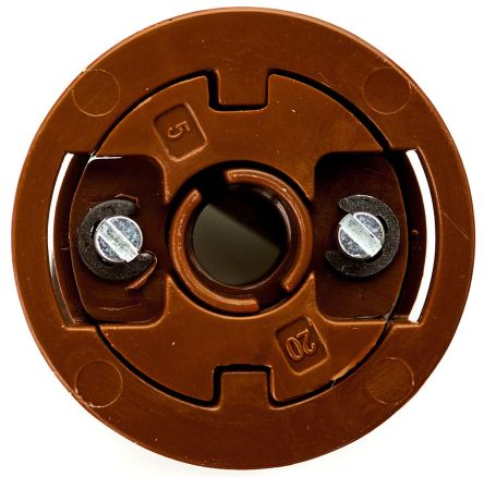 Brown Acetal, Steel Plasterboard Fixings with 20mm fixing hole diameter product photo